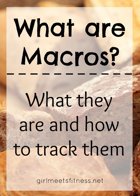 What are Macros? What they are and how to track them. -  girlmeetsfitness.net