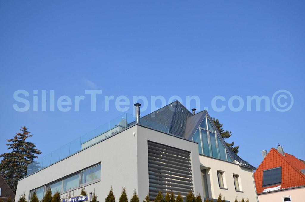 Roof Terrace Glass Railing Benjamin Friedl Flickr