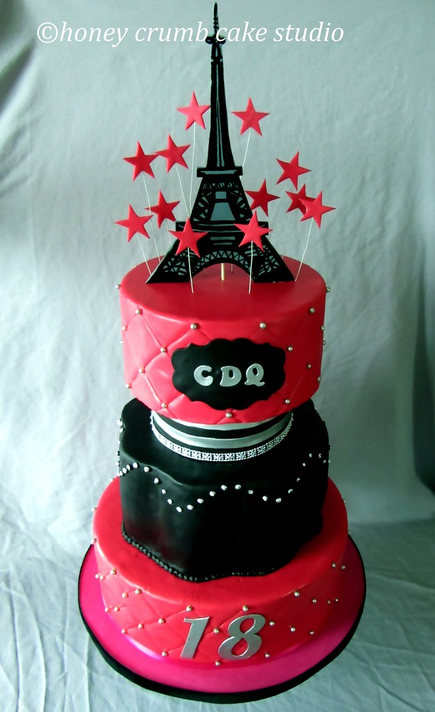 Eiffel Tower Cake Topper Party Favors