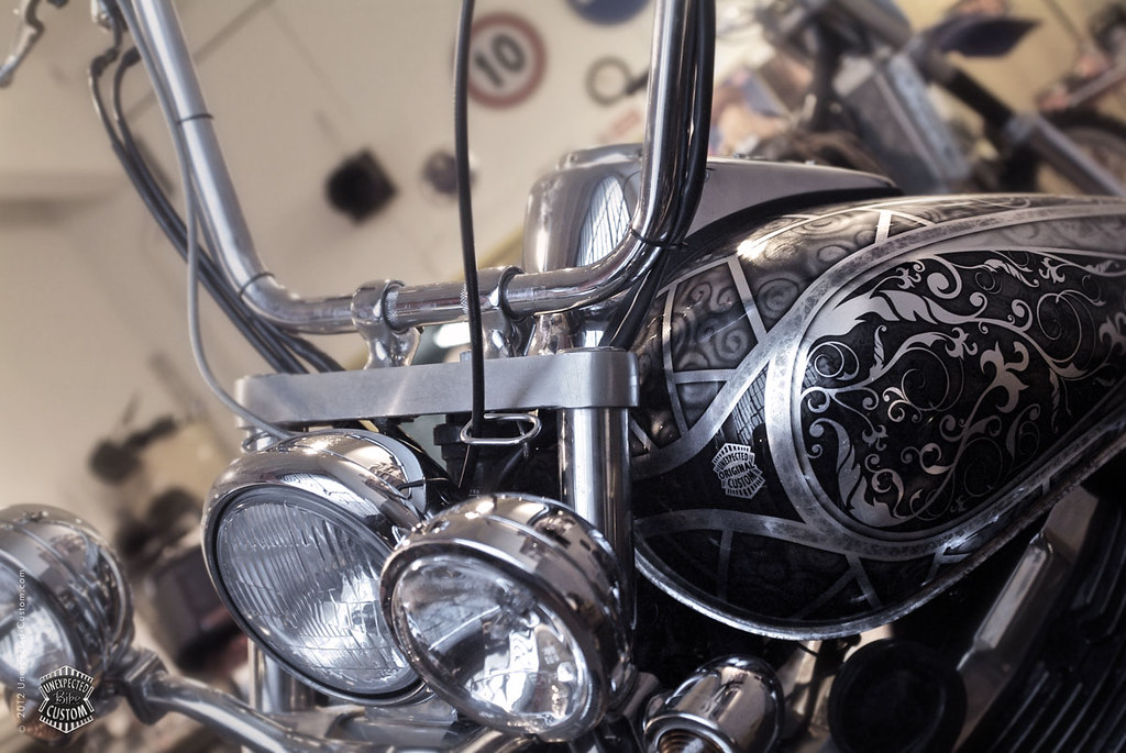 U c custom bike unexpected for How much to paint a motorcycle