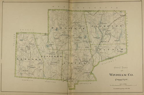 Page 274 & 275 of Town and city atlas of the State of Connecticut. / Compiled from government surveys, county records and personal investigations | by uconnlibrariesmagic