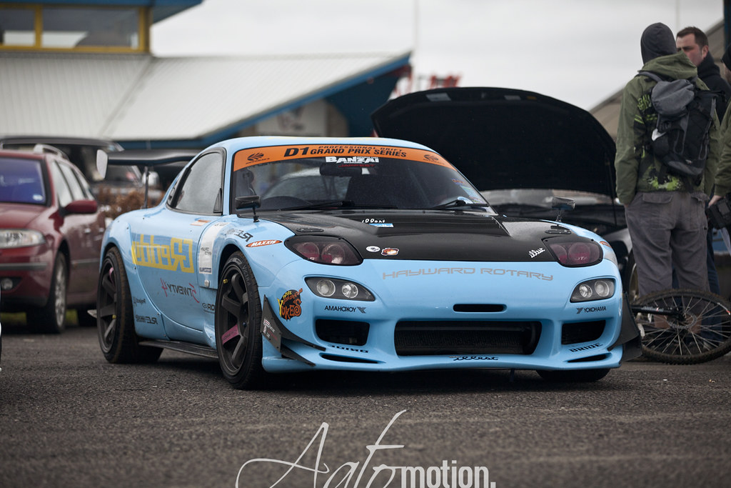 Mazda Rx7 Drift Car Aatomotion Flickr