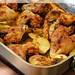 Louisiana Chicken Wings & Potato Wedges (Louisiana Hühnchenflügel & Kartoffeln)