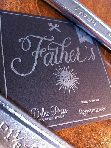 Happy Father's Day #TypeCard | by dolcepress
