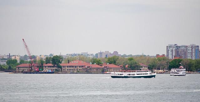Circle Line Ferry To Ellis Island