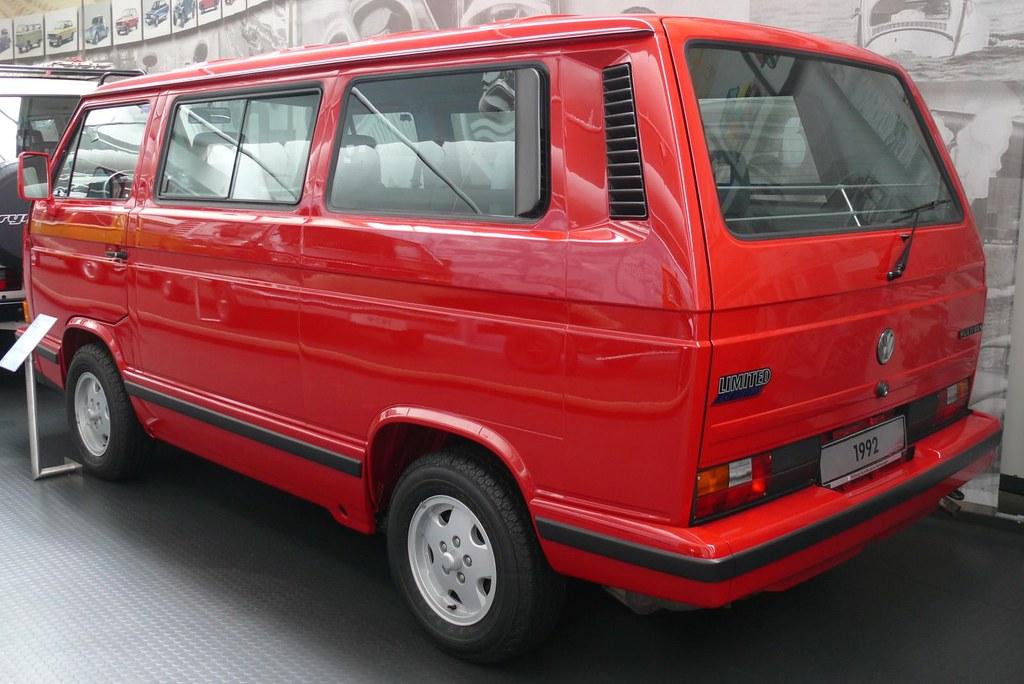 vw bus volkswagen bulli t3 multivan 1992 red hl stkone. Black Bedroom Furniture Sets. Home Design Ideas