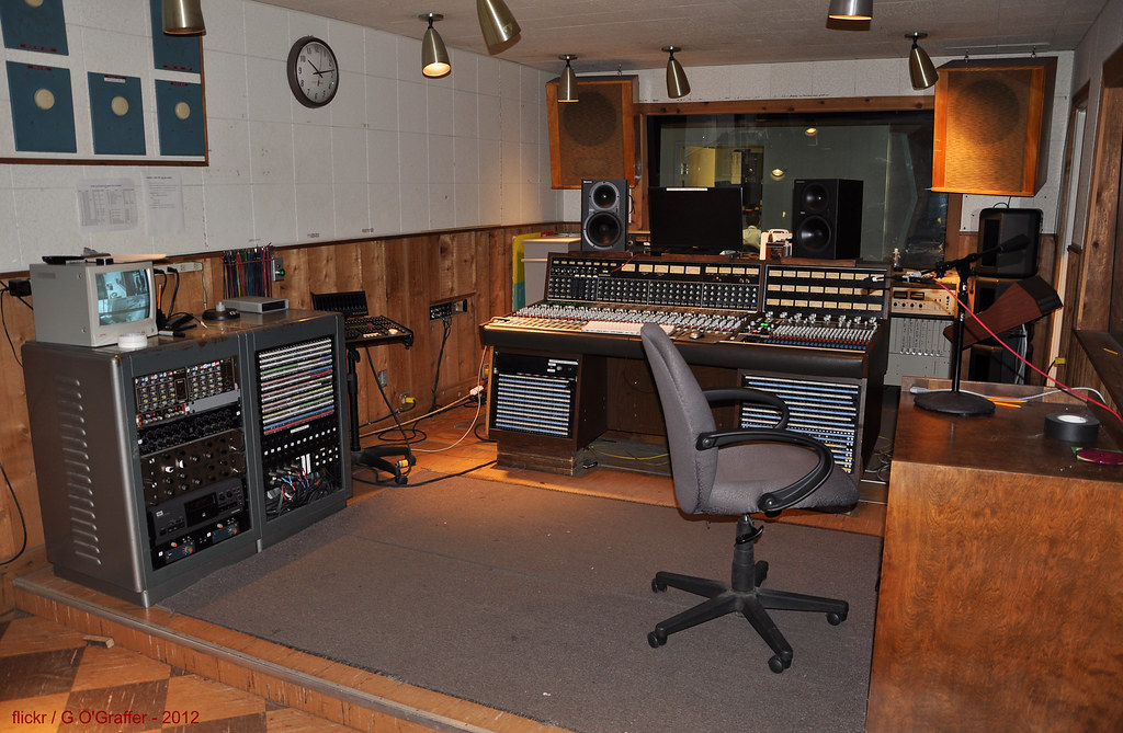 Control Room Rca Studio B Nashville This Is The