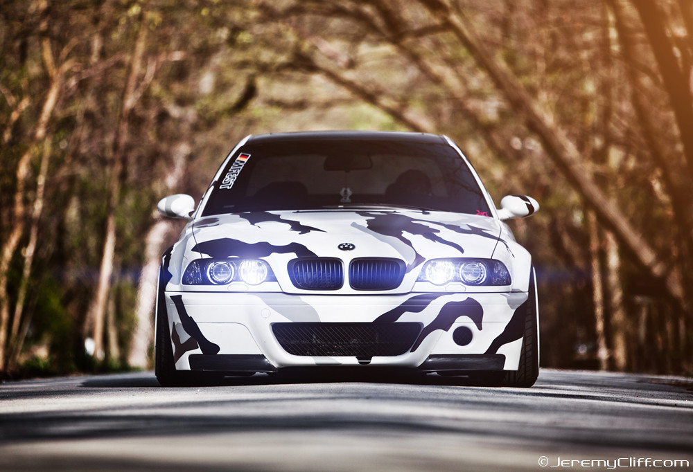 arctic camo e46 bmw m3 for tuning magazine arctic camo. Black Bedroom Furniture Sets. Home Design Ideas