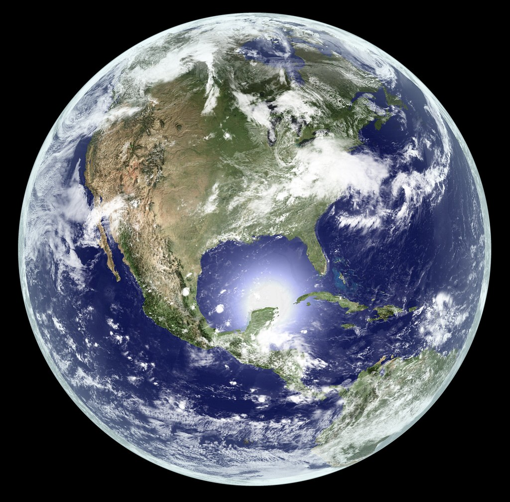 Earth Global Elevation Model With Satellite Imagery Ver Flickr - Globe elevation