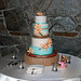 Cattleya Orchid Wedding Cake