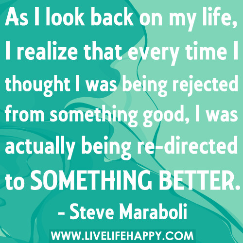 Looking At Life Quotes: As I Look Back On My Life, I Realize That Every Time I Tho