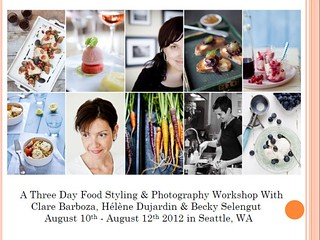 Save the date: 3 Day Workshop in Seattle | by tartelette