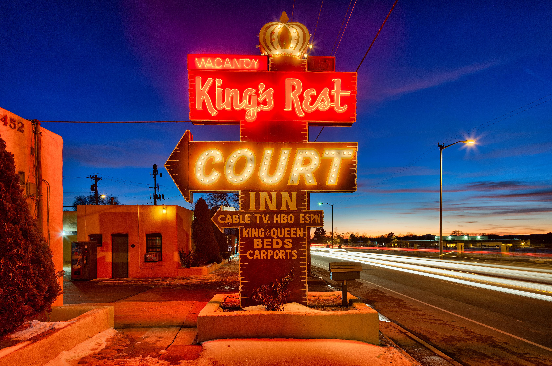 King's Rest Court Inn - 1452 Cerrillos Road, Santa Fe, New Mexico U.S.A. - December 28, 2011