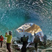 Ice Cave, Mer de Glace, HDR panorama