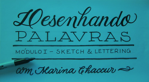 Lettering workshop | by Marina Chaccur
