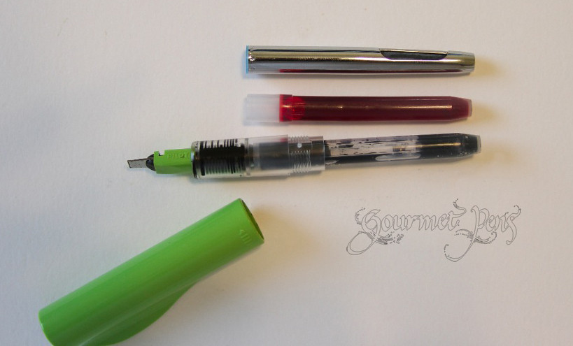 Pilot parallel converter azizah asgarali flickr Pilot parallel calligraphy pen