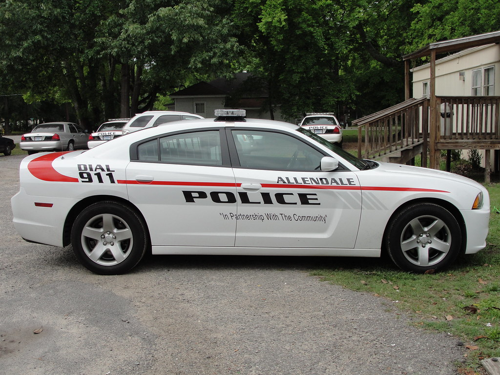Allendale pd sc dodge charger thanks to members of the for Department of motor vehicles in mobile alabama