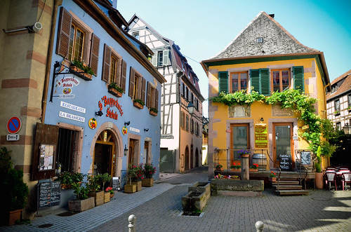 Ribeauvillé (Рибевиль), Эльзас, Франция
