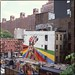 Kobra Mural in Progress from High Line