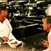 Wolfgang Puck and Pastry Chef Sherry Yard