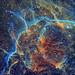 Vela SNR Hubble Palette