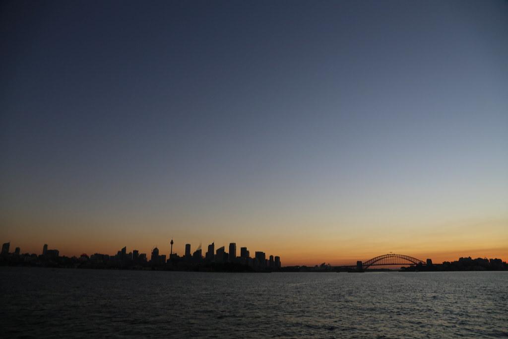 Gazing at Sydney