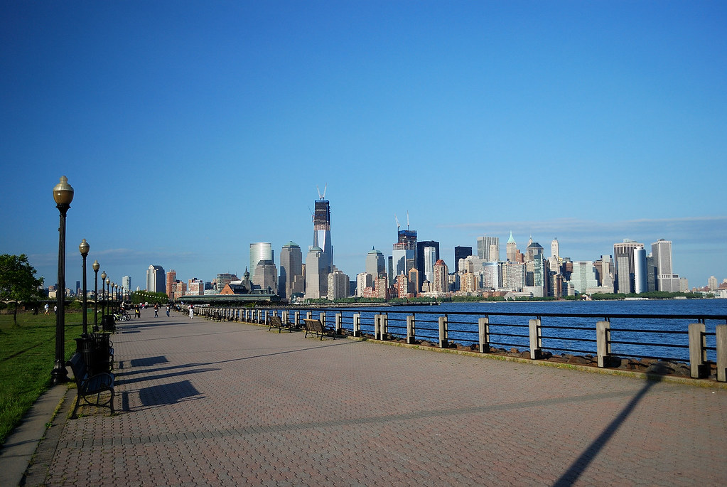 jersey city, liberty state park, statue of liberty, hotels in jersey city, nj