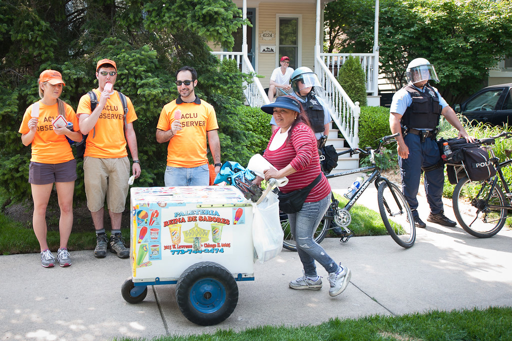 Aclu Busy Observing Ice Cream Cart After The Rahm Emmanuel Flickr