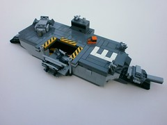 'Orkney' Class Amphibious Assault Ship by The Legonator