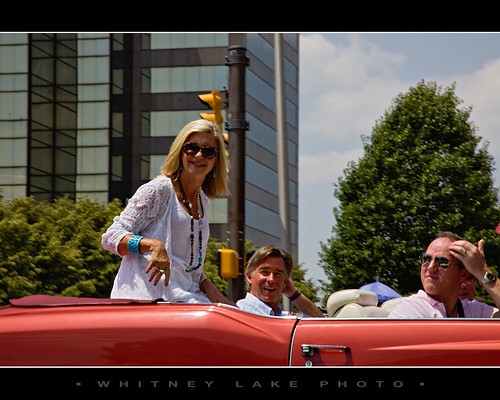 Olivia Newton John ...at the 500 Festival Parade | by Whitney Lake