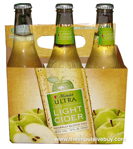 Michelob Ultra Light Cider Click Here To Read Our