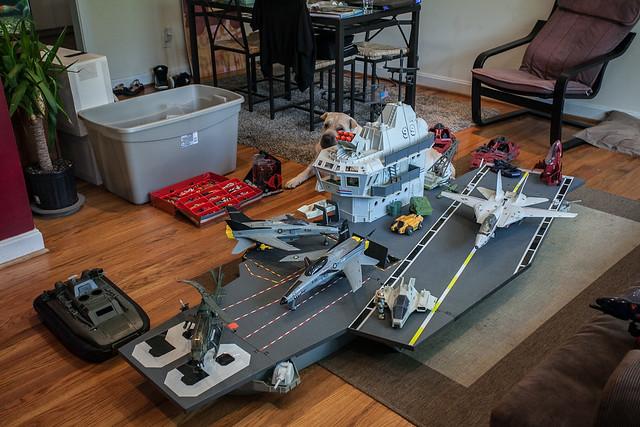 U s s flagg the g i joe aircraft carrier flickr photo sharing - Porte avion gi joe a vendre ...