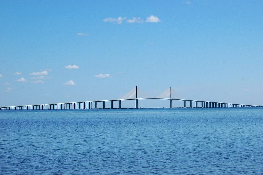 Tampa Bay Bridge Florida Florida Tampa Bay / Gulf