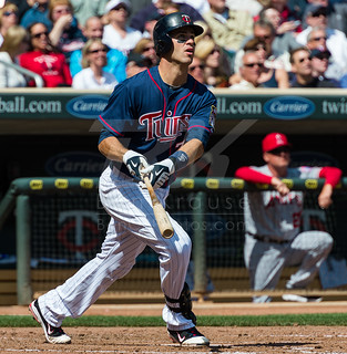 Minnesota Twins Joe Mauer Home Run, April 12, 2012 | by Ben C. K.