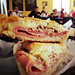 Cuban sandwich at Aguila Sandwich Shop