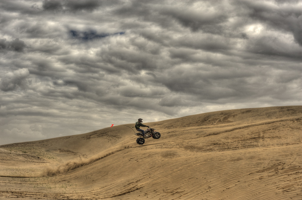 Christmas Valley Sand Dunes Photo Of An Ohv At Christmas