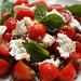 Lentil caprese salad