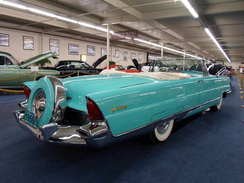 1956 Lincoln Premiere Convertible Dave 7 Flickr