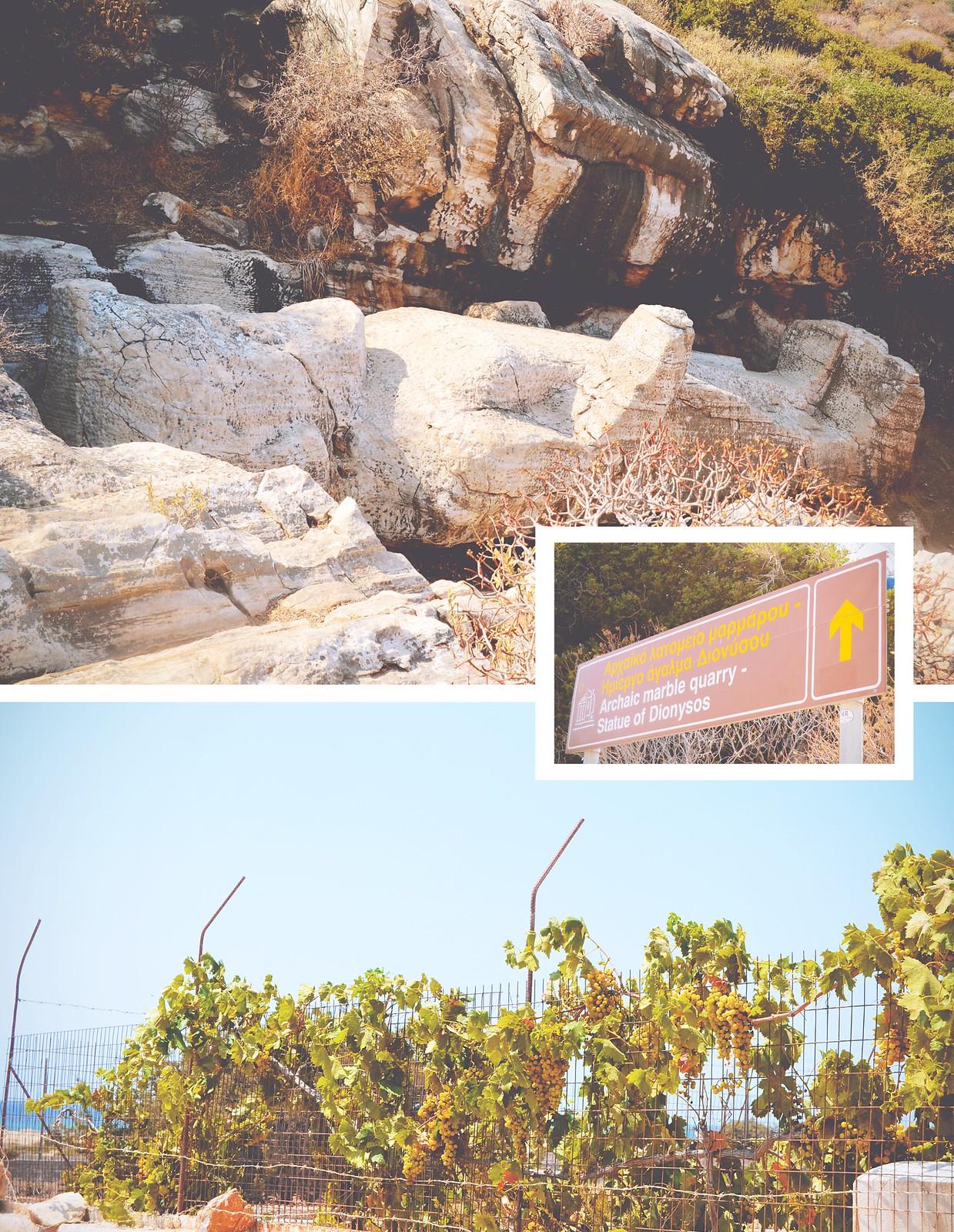 The statue of Wine God Dionysos on the island of Naxos, Greece   via It's Travel O'Clock
