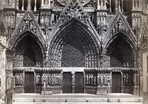 Bisson Frères - Reims Cathedral, 1857 | by The Patrick Montgomery Collection