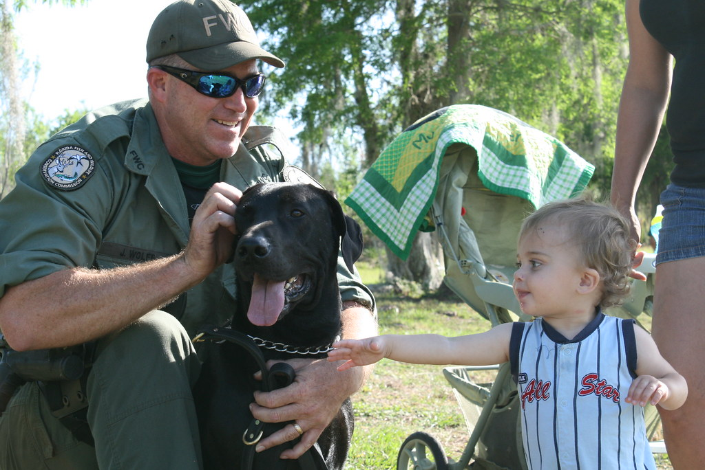 K 9 mojo and officer joe wolff 6 k 9 mojo and officer for Florida fish and wildlife officer