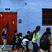 Des écoliers dans la rue | Students in the street | Estudiantes en la calle