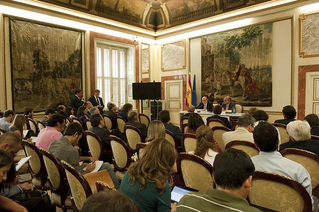 El ministro del interior ha inaugurado el seminario for Escuchas del ministro del interior