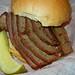 Beef Brisket Sandwich @ Satchmo's