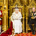 Her Majesty the Queen delivers the speech from the throne in the House of Lords – written by the government, setting out its agenda for the new session