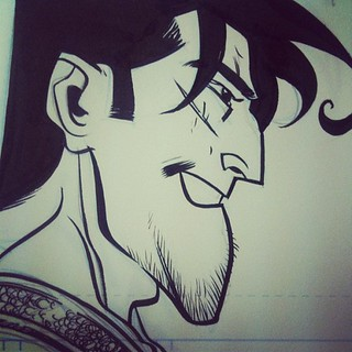 Here's Johnny... #johncarter | by theRAIDstudio