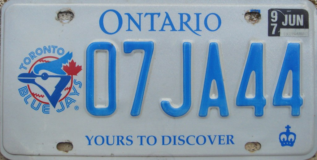 how to get a temporary license plate in ontario