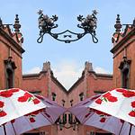 The image of roses in Mexican Baroque, Queretaro