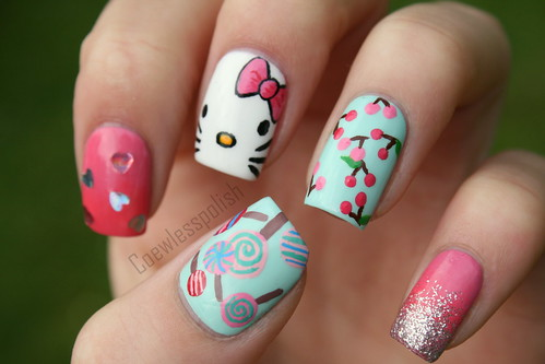 Hello Kitty | by NailsbyCoewless