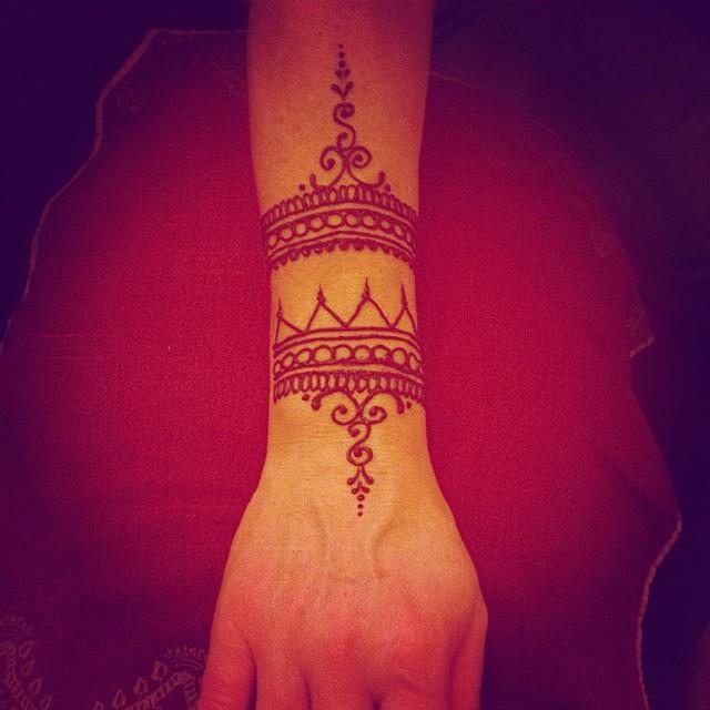 Wrist Cuff Henna Meghansmehdi  Meghan Kaloper  Flickr